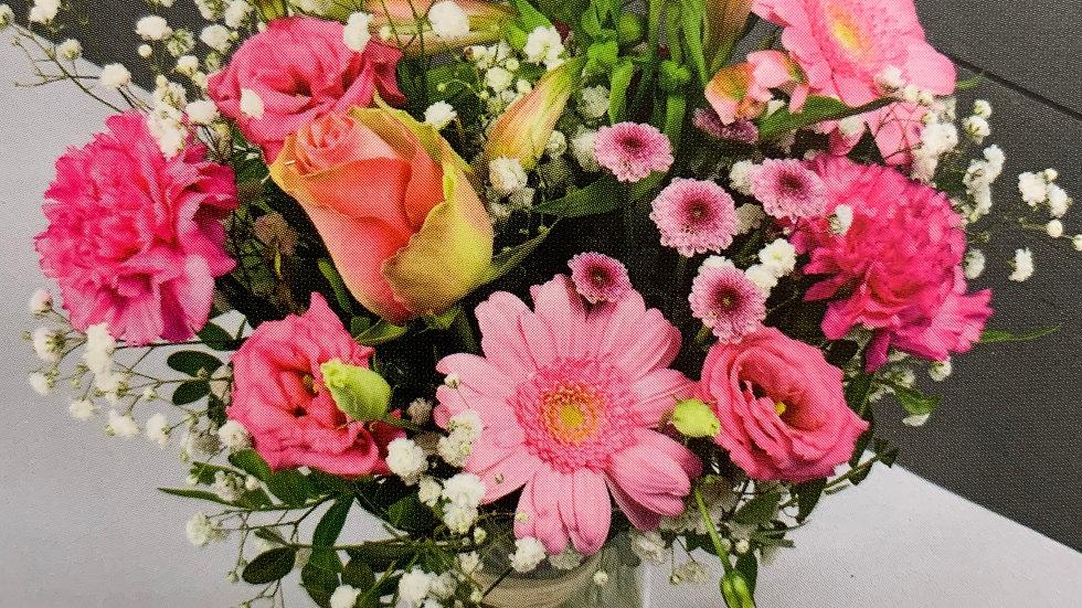 Bouquet rond pastel - A partir de :