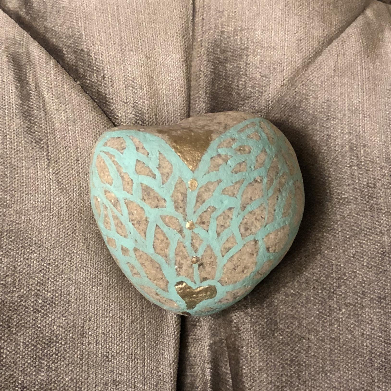 blu angle heart