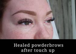 Läkta powderbrows