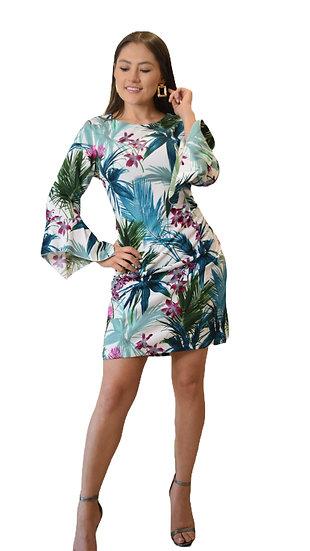 Vestido Print Tropical