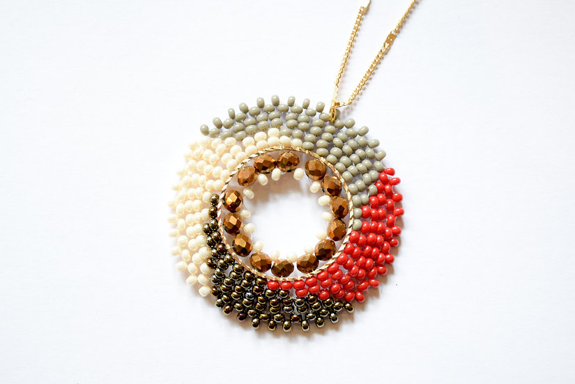 Collar Deco 4 Colores