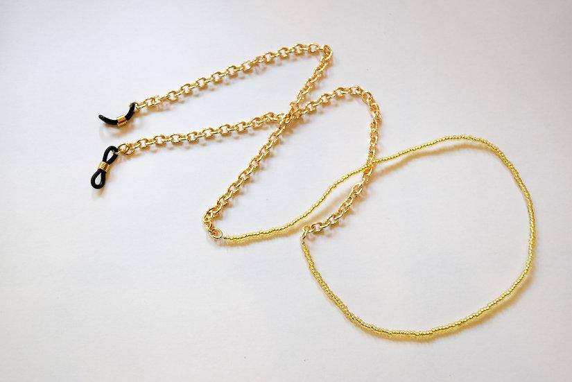 Cadena para Gafas Dorado