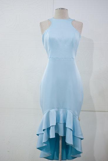 Vestido Celeste Vuelos