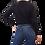 Thumbnail: Sweater Negro Cerrado