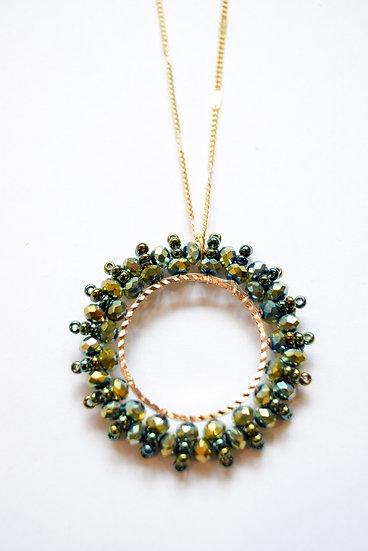 Collar Deco Verde