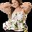 Thumbnail: Blusa Print Flores Peplum