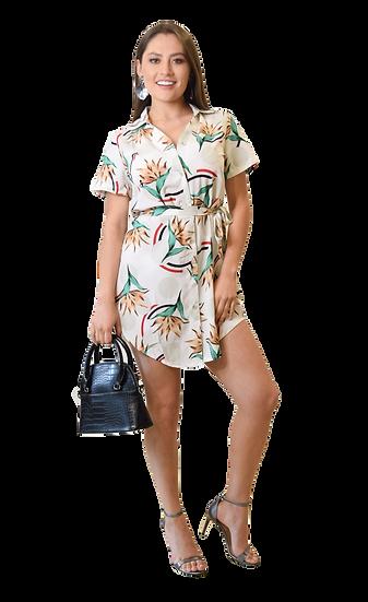 Vestido Camisero Print