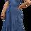 Thumbnail: Vestido Azul Jean Cruzado