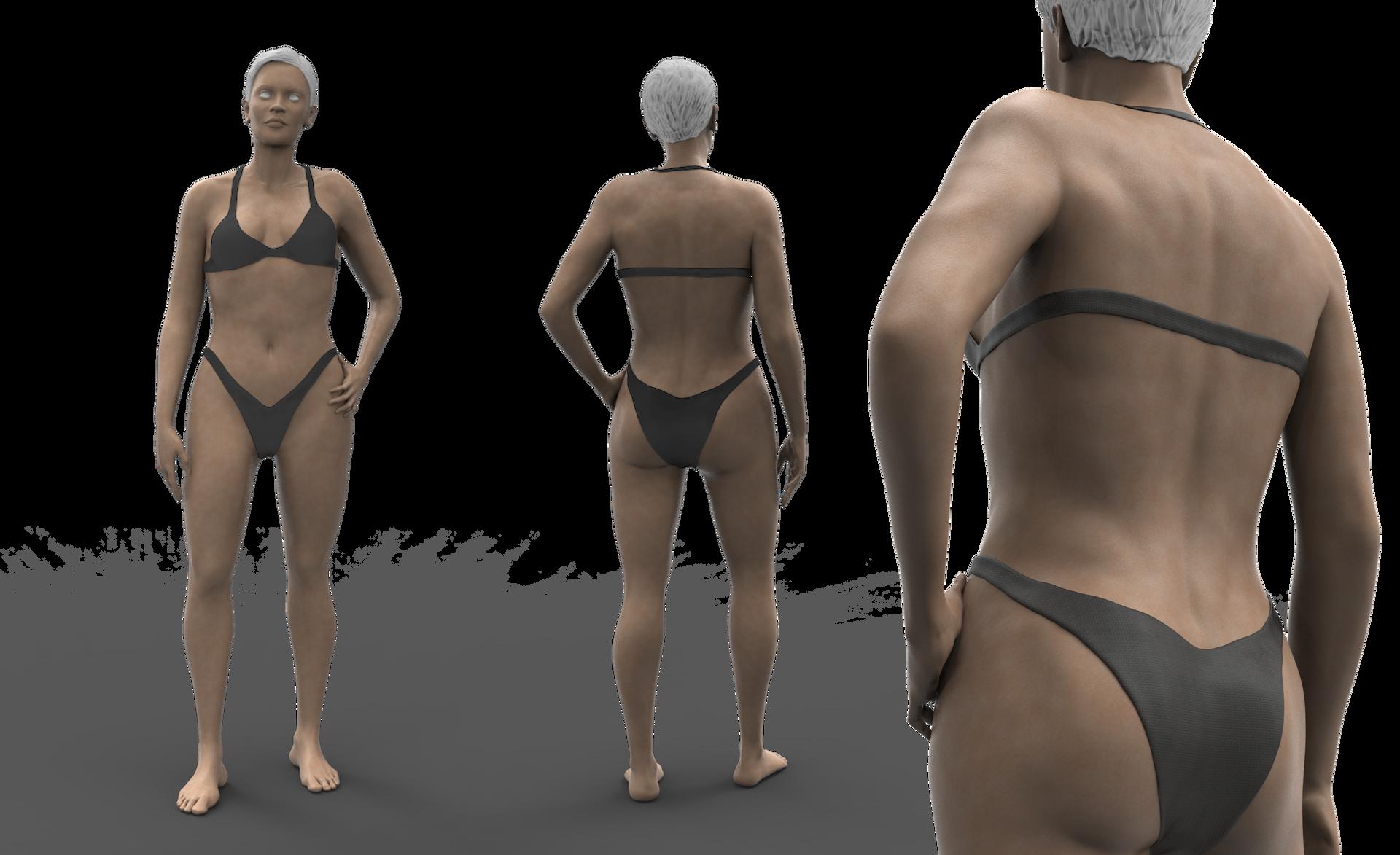 Female body modeling