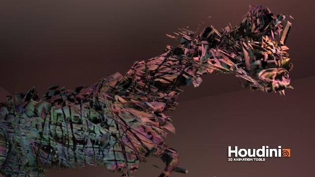 Procedural horse