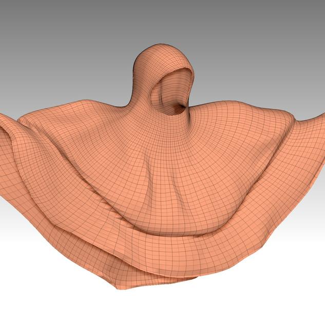3D Eingescannte Werke von Rebecca Hiles