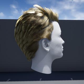 Hair, groom simulation