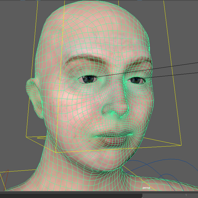3D Character Test