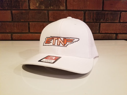 Solid White Flexfit 110 Hat