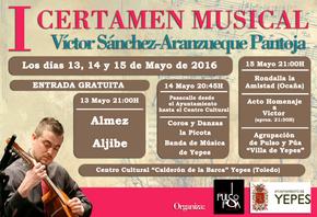 Almez en Yepes (Toledo) - I Certamen Víctor Sánchez Aranzueque Pantoja - 13 de mayo de 2016