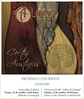 Conciertos de otoño de 2016 de Almez