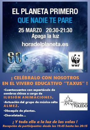 """Almez actuará en el Vivero Educativo """"Taxus"""" en Toledo el 25 de marzo"""
