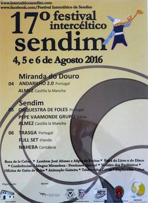 Almez en el 17º Festival Intercéltico de Sendim
