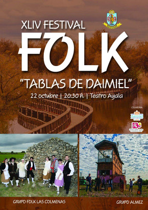 Almez en el XLIV Festival Folk Tablas de Daimiel