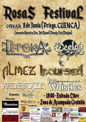 Almez en el Rosas Festival - Priego (Cuenca)