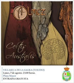 Almez actuará en Villaseca de la Sagra (Toledo) el 7 de agosto