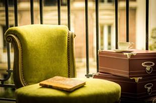 Stuhl gepolstert traditionell, Konzepterstellung