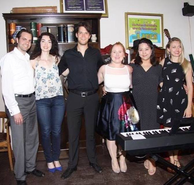 """The cast of """"Opera Meets Broadway!"""""""
