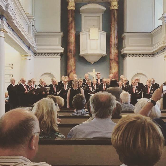 Concert with the Polizeichor Hamburg