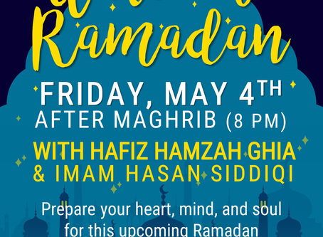 Welcome Ramadan | BCIC May Family Night (5/4)