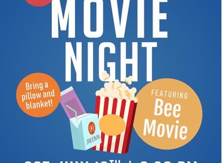July Family Movie Night ft. Bee Movie!