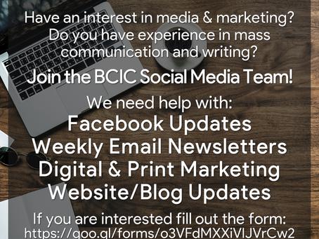 BCIC Social Media Team