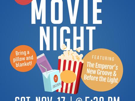 November Movie Night (11/17)