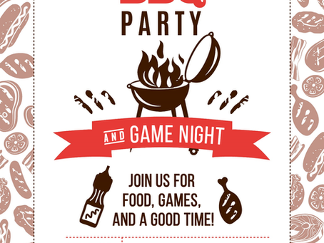 YM BBQ Party & Game Night