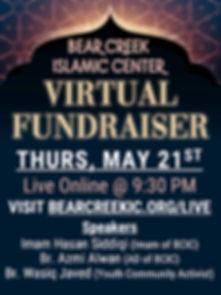 Virtual Fundraiser Flyer