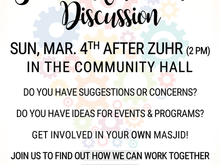 March Sister's Roundtable Discussion (3/4)