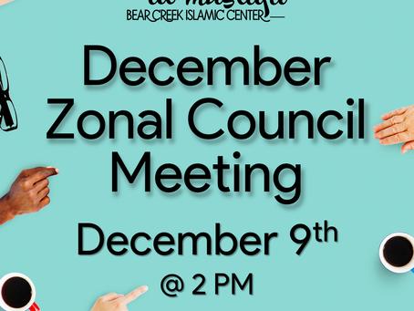 BCIC December Events