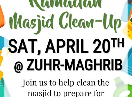 Ramadan Clean Up Day