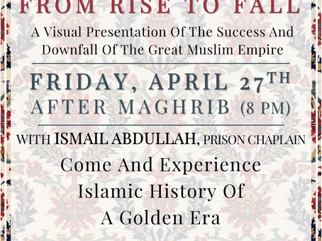 The Ottoman Empire: From Rise To Fall | April Family Night (4/27)