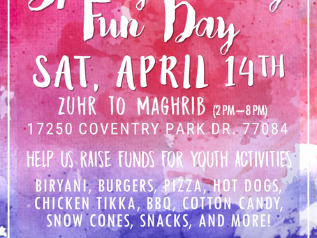 Spring Family Fun Day | BCIC Youth Fundraiser (4/14)