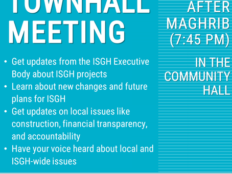 ISGH Townhall Meeting