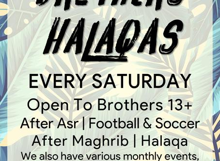 Brother's Halaqas