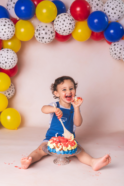 Séance anniversaire Cake Smash