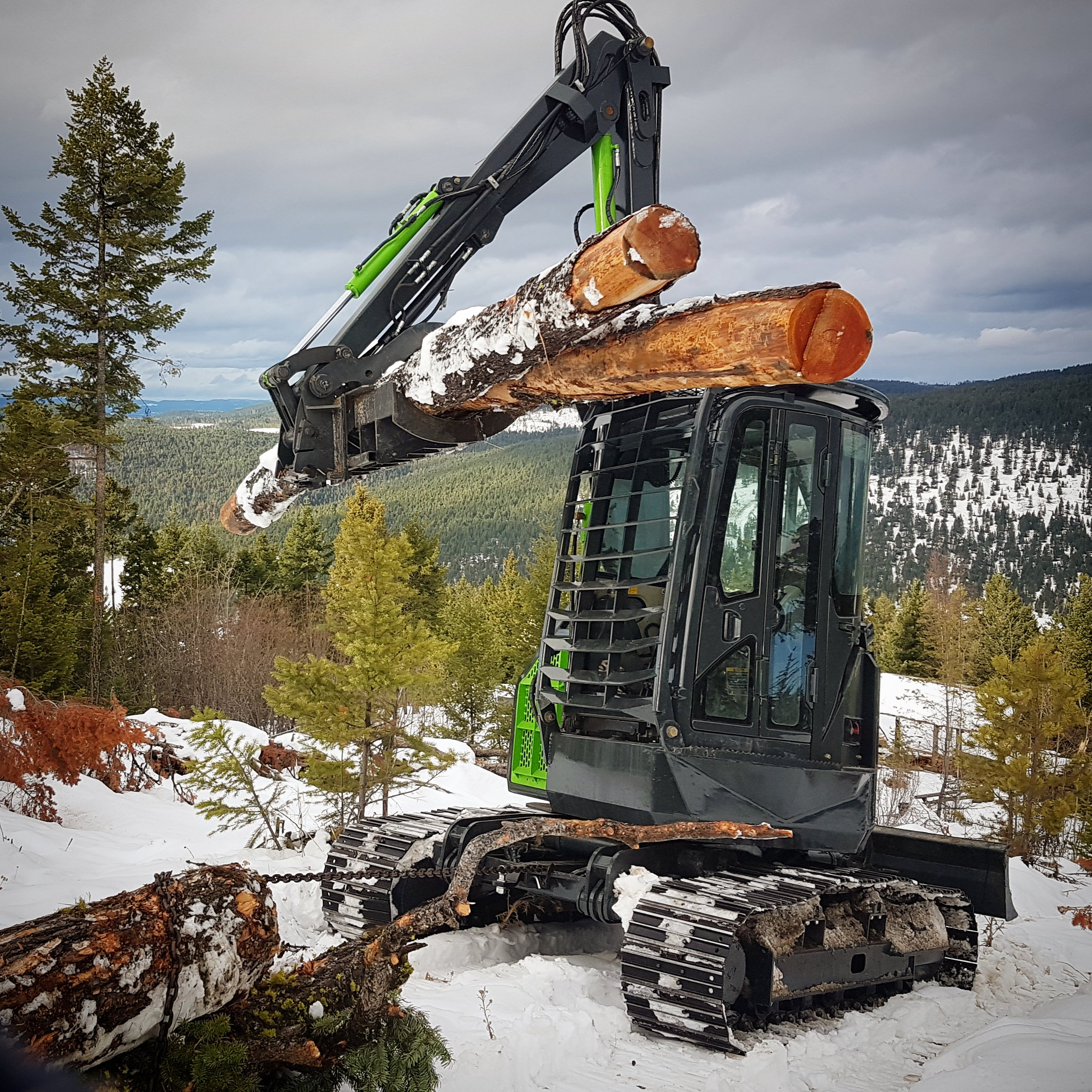 Excavating forestry kamloops