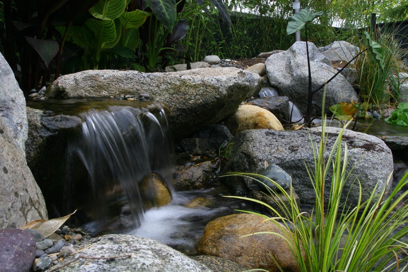 Waterfall water features kamloops