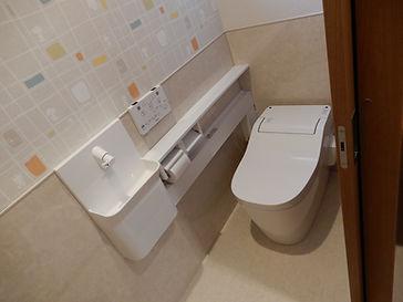 新築トイレ