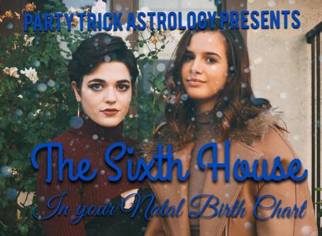 Sixth House Cusp Rulers Breakdown