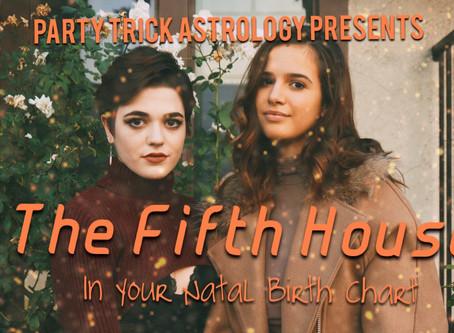 Fifth House Cusp Rulers Breakdown