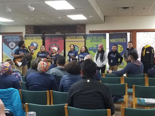 Youth Leaders Inspired at Retreat