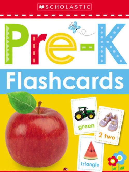 Scholastic Early Learners Flashcards  Pre-K
