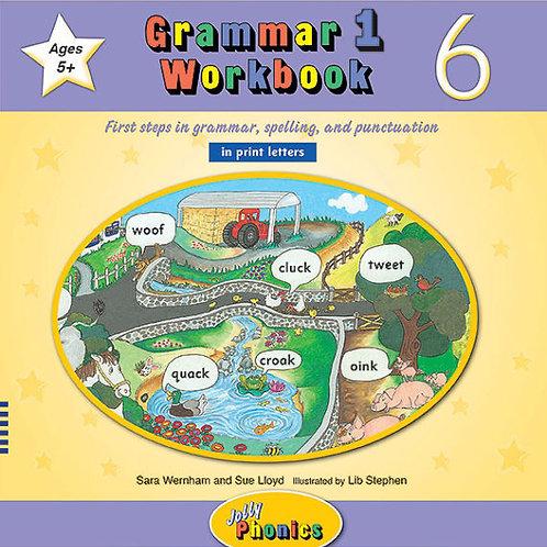 Grammar 1 Workbook 6 (in print letters)